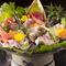 旬の海鮮をはじめ、多彩な料理が盛りだくさん