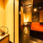 特別な日に落ち着いた雰囲気の個室で和食を堪能