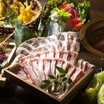 お料理コース3500円(税抜)。  和牛のモツを使用した特別コースをお手頃価格でご提供。