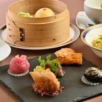 広東料理を洋風にアレンジした新感覚の料理を提供しています。