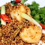 中国野菜の強火炒め