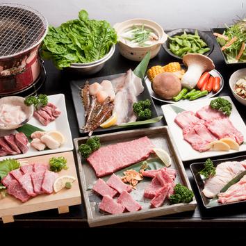 サンキューコース(料理2400円+飲み放題1500円)