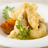真鯛本来の旨みが広がる贅沢な一皿『真鯛のフィッシュ&チップス』