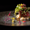 炙り秋刀魚+秋刀魚とキウイのタルタル コリアンダー 山椒 生姜 ライム