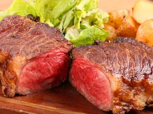 赤身の強い褐色和牛『北海道いけだ牛 揚げ焼き』