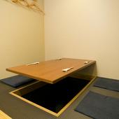 ビジネスシーンにも利用できる、落ち着いた一室