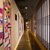 韓国をイメージした内装に、韓国気分を満喫