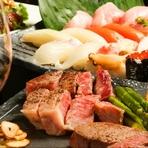ワンランク上の歓送迎会におすすめ!海鮮、肉、豪華食材を堪能!