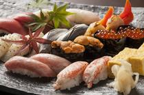 元寿司職人の料理長が腕を振るう、お酒と相性抜群の『握り寿司』