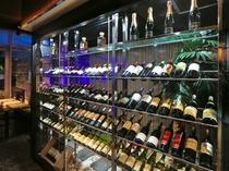 なんと世界のワイン100種以上を取り揃え!『ワインセラー』