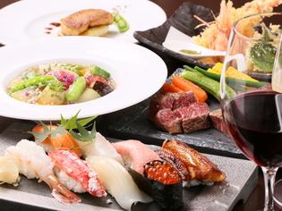 北海道の恵みがつまった「肉」と「海鮮」