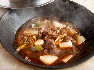 ラム肉と大根がどちらも主役の『ラム肉と大根の醤油炒め煮』
