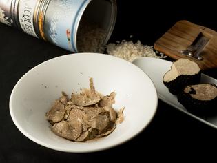 トリュフなど季節の食材をふんだんに使った贅沢な『リゾット』