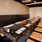 地元九州の味が堪能できる料理の数々は、接待などに最適