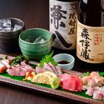 コース利用なら飲み放題プランあり、追加料金でワインと日本酒も