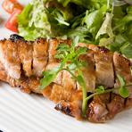 糸島産豚ロースステーキ