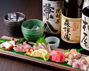 料理長が朝仕入れた新鮮な魚を色々選んでお出しします!