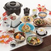 四季を感じる魚鉄自慢の日本料理会席「夏の特選会席」6000円