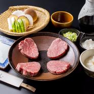 口取・サラダ・あみ焼