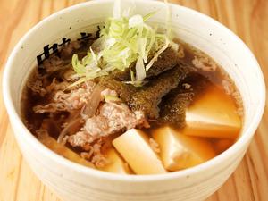 国産牛肉の旨みが凝縮されたスープが美味『肉吸い』