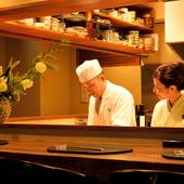 実直な店主とホスピタリティに溢れる女将がもてなす和食料理店