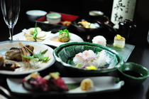 京野菜、鱧(はも)、鮎(あゆ)、湯葉、生麩、京豆腐、和牛など