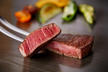 極上の逸品『京都牛の鉄板焼き』