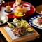 京都牛ロースの鉄板焼きをメインに 新鮮な魚介や 旬の野菜を創作鉄板料理で愉しむ全7品