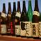 おすすめの金沢の地酒を中心に、焼酎やカクテル等豊富なドリンク
