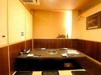 プライベートな空間で寛げる個室で大切な方との会食に最適