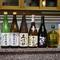 料理に合った日本酒やサミットで使われた地酒などが揃っている