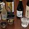 京都の地酒をはじめ、すっきりとした口当たりの冷酒が充実