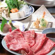 百日鶏の水炊き or すき焼きコース 全5品 4,000円