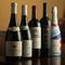 料理を引き立てるワインを幅広く用意。グラスシャンパンも人気