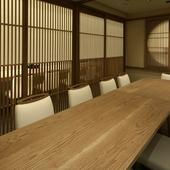 テーブル個室を3部屋ご用意。1室は10名様までのご利用が可能