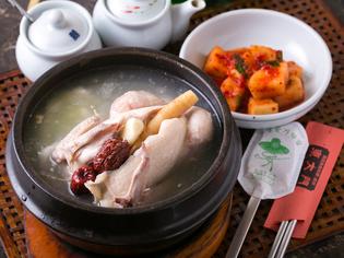 身体の中からポカポカスープ『参鶏湯』
