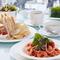Weekday Lunch Set メニューA (ミニサラダ、パン、コーヒー or 紅茶付)