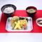 【天きち】人気メニューの『チーズ鶏天ぷら定食』