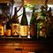 お料理に合う焼酎を厳選。日本酒も「獺祭」などの銘酒が揃う