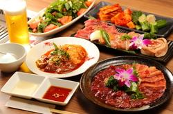 【各ご宴会に最適!】MEGUMI 極上コース~厳選された旨味たっぷりのお肉と美味しいお酒で贅沢な時間を