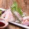 有機栽培された「立川産地野菜」や、築地から仕入れた鮮魚を使用
