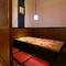 最大6人まで利用可能なプライベートな個室空間