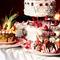 人数に合わせてオーダー可能なウェディングケーキ