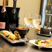 絶品天ぷらと厳選シャンパンで心弾む女子会が楽しめるお店