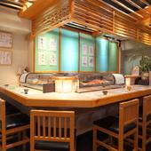 ちょっと贅沢なお寿司デートで心通うひととき