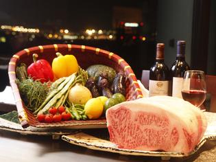 「しあわせ絆牛」・「かずさ和牛」、旬菜など千葉県産の食材