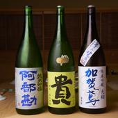 旨みとキレ。バランス感のある日本酒を厳選