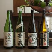 手仕込みにこだわった、オーガニックな日本酒も
