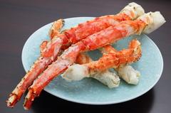 コースでしか食せないタラバガニ! 峰岡豆腐や銀ムツ西京焼き等お店の人気メニューをお楽しみ下さい