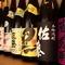 ワインの他、日本酒や焼酎も充実